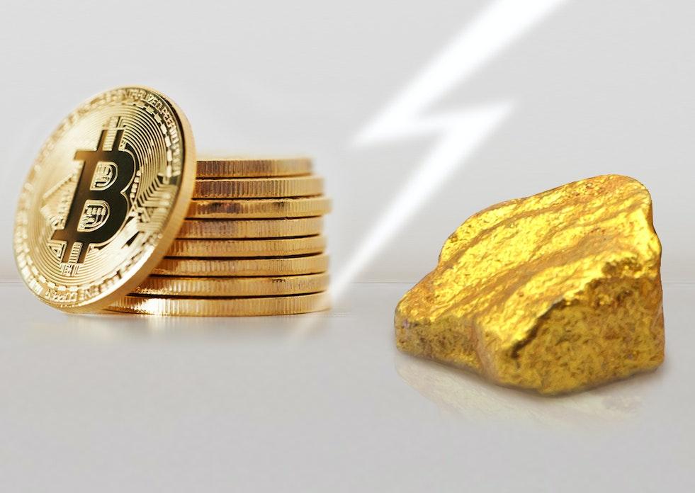 Was ist sicherer? Gold oder Bitcoin?
