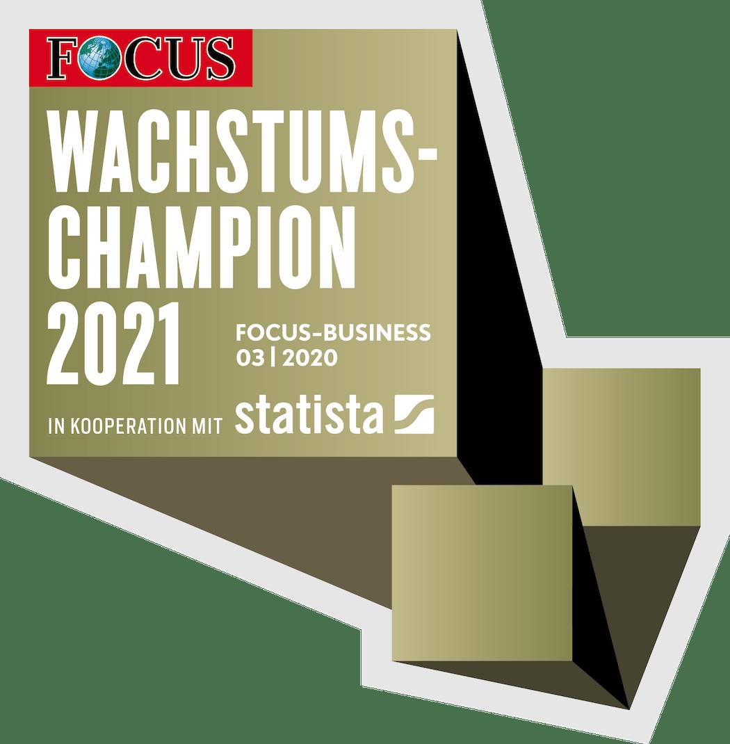 Focus Business 03 2020: Wachstumschampion 2021 ist Golden Gates Edelmetalle AG