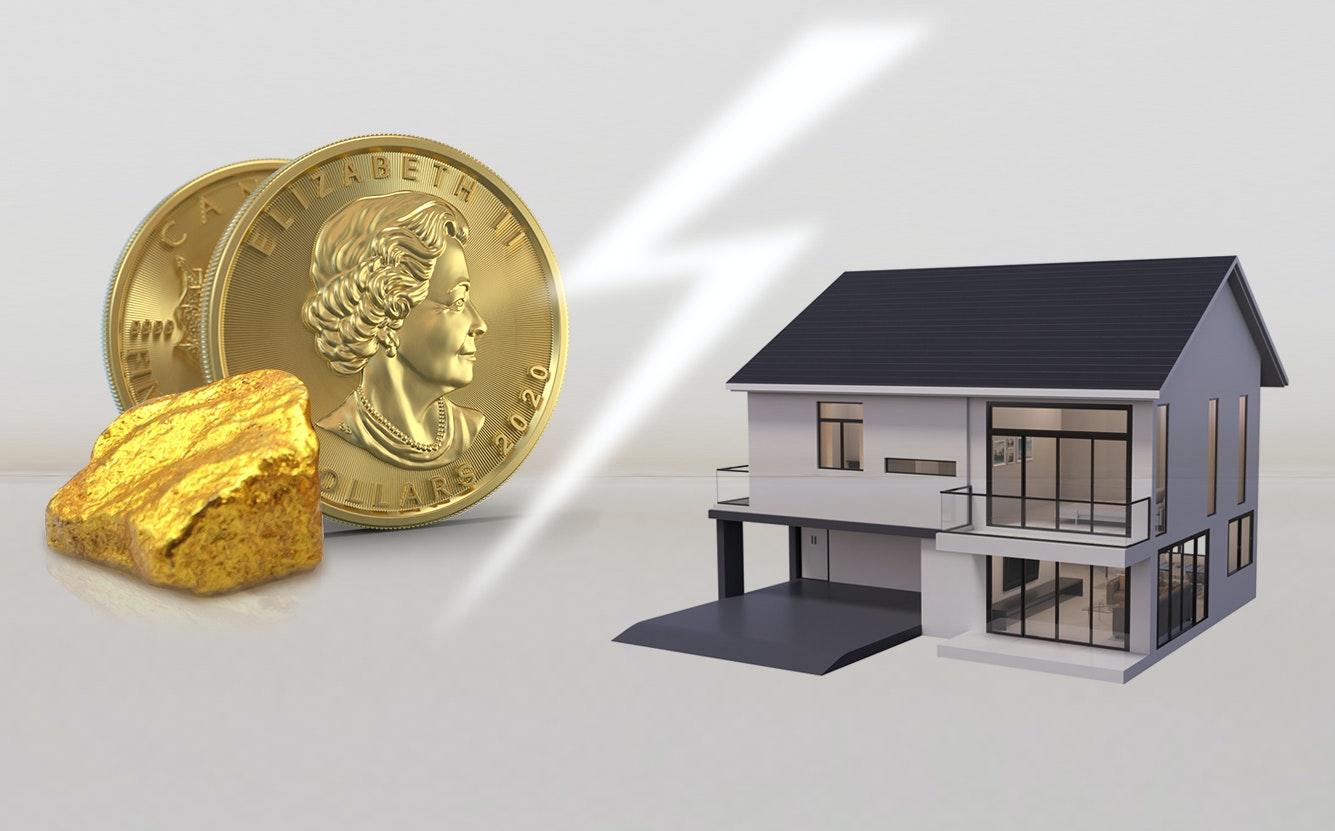 Gold steht als Wertspeicher hoch im Kurs.