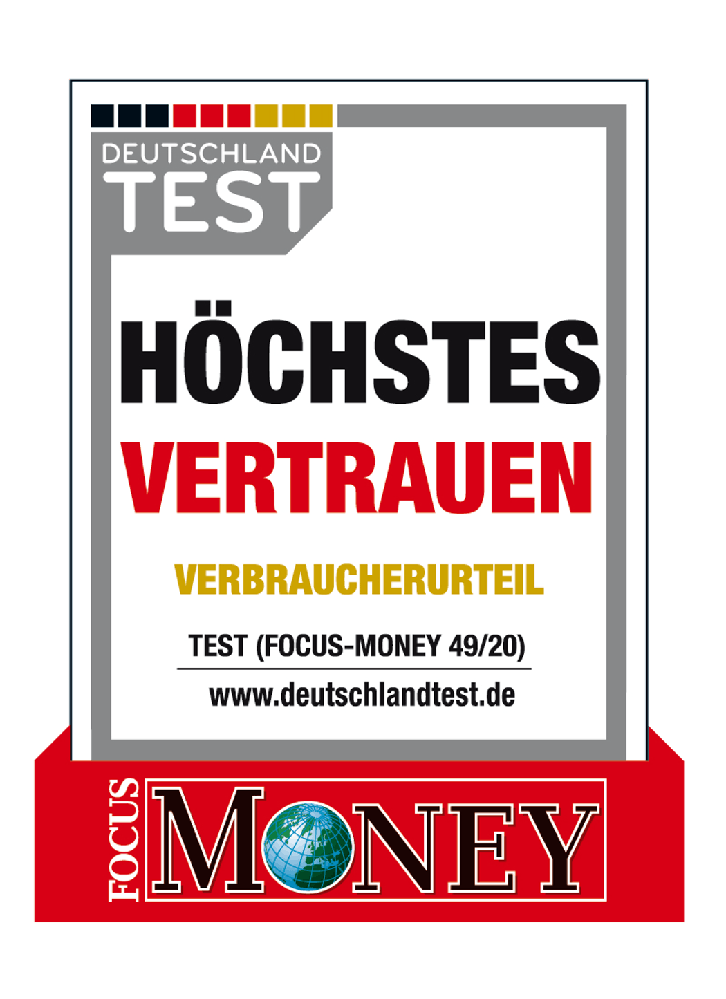 Höchstes Vertrauen für Golden Gates Edelmetalle AG (Focus-Money 49/20)
